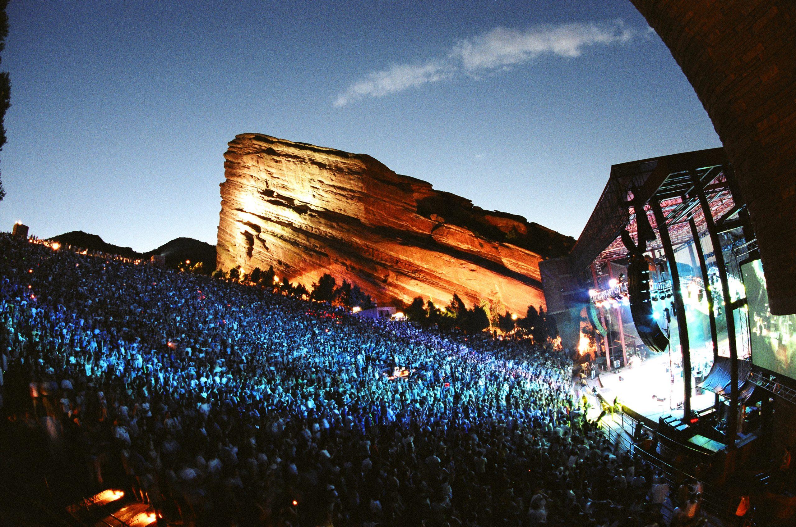 Red Rocks Amphitheatre Adds Umphreys McGee, HAIM, The