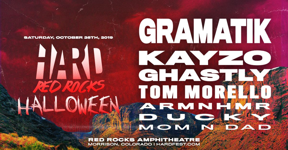 HARD HALLOWEEN Red Rocks 2019