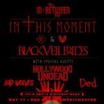 In This Moment & Black Veil Brides - Postponed