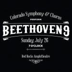 Colorado Symphony & Chorus Perform: Beethoven 9 - CANCELLED