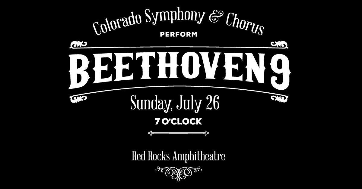 Colorado Symphony & Chorus Perform: Beethoven 9