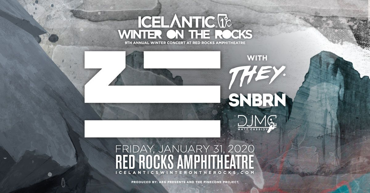 Icelantic's Winter on the Rocks ft. ZHU