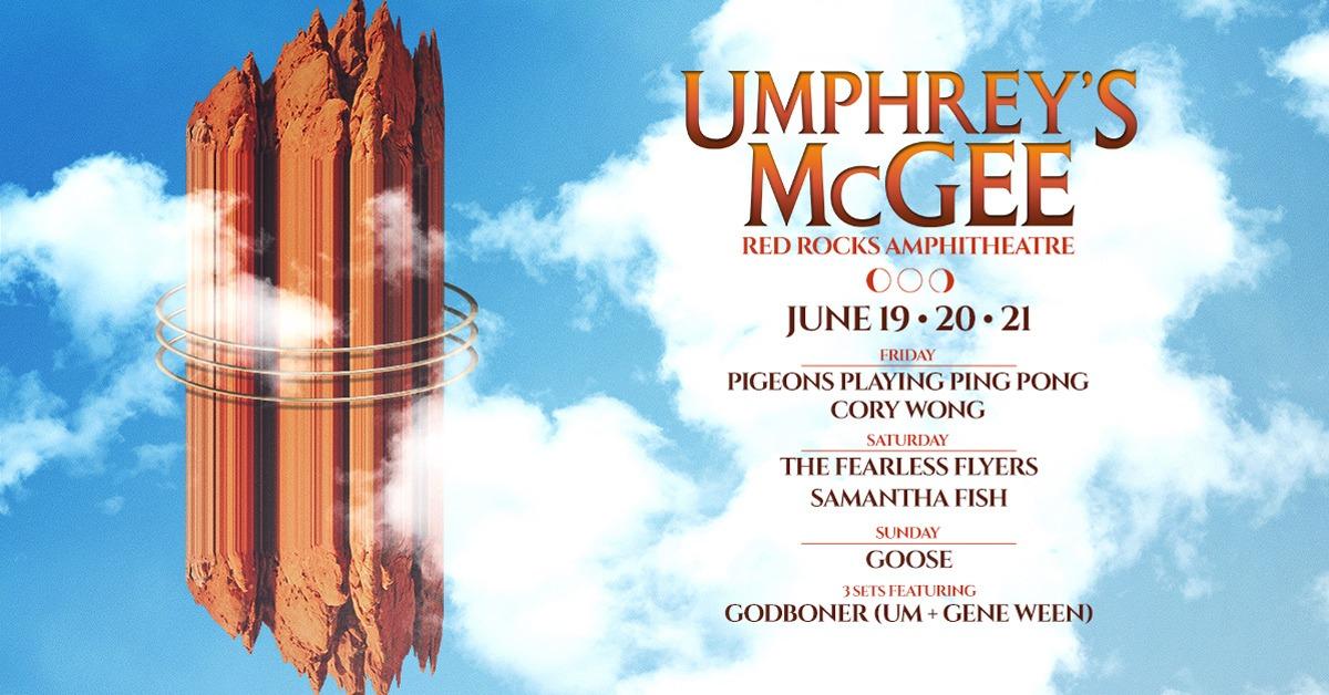 Umphrey's McGee 6/21 – Cancelled
