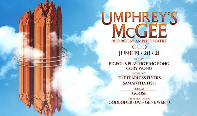 Umphrey's McGee 6/19 – Cancelled