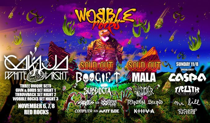 Ganja White Night 4/16 – Rescheduled from 4/17