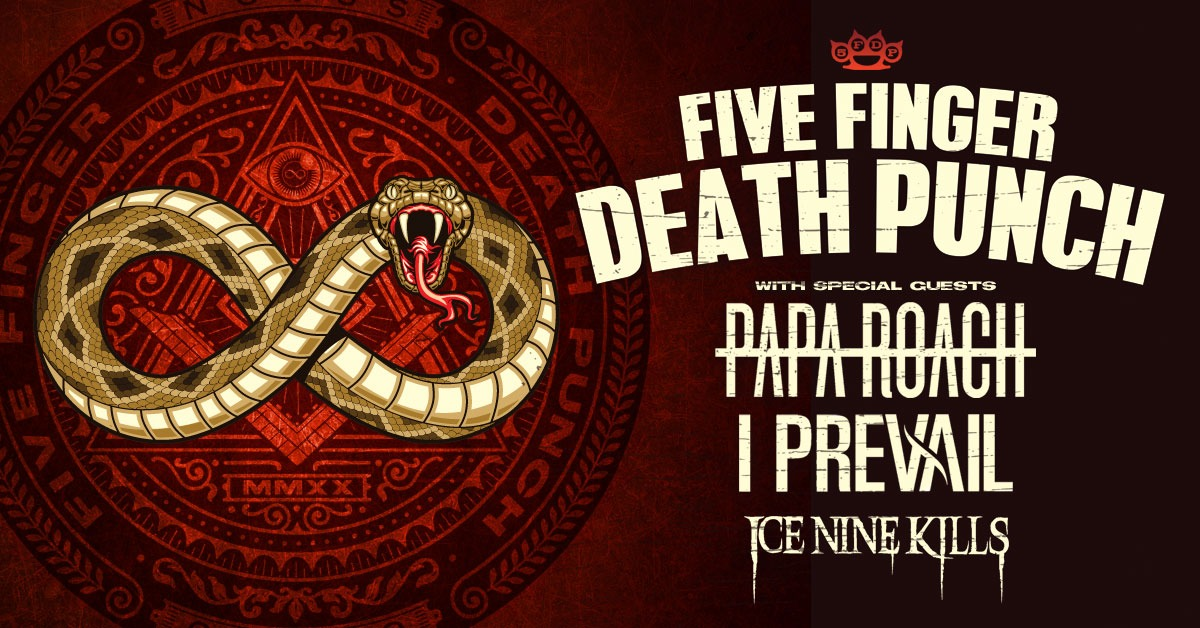 Five Finger Death Punch – Cancelled