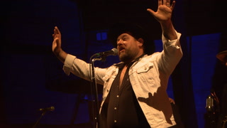 Nathaniel Rateliff & the Night Sweats perform