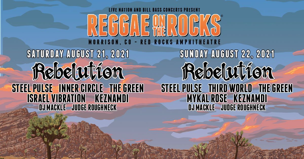 Reggae On The Rocks 8/21
