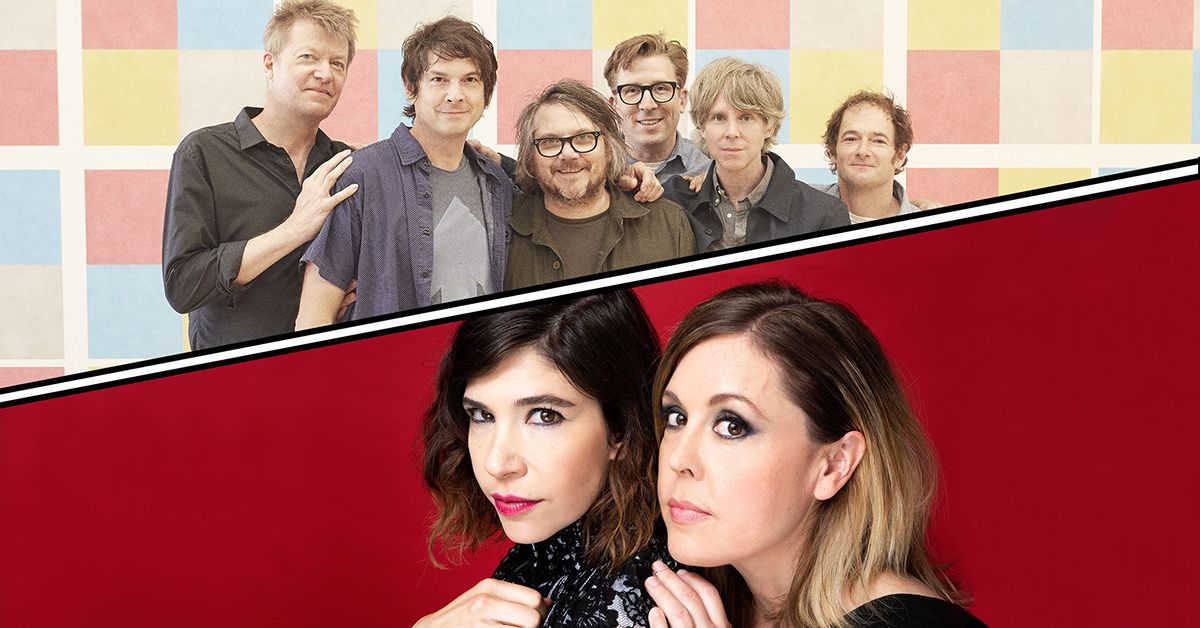 Wilco & Sleater‐Kinney – Rescheduled from 2020