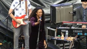 Corinne Bailey Rae performs