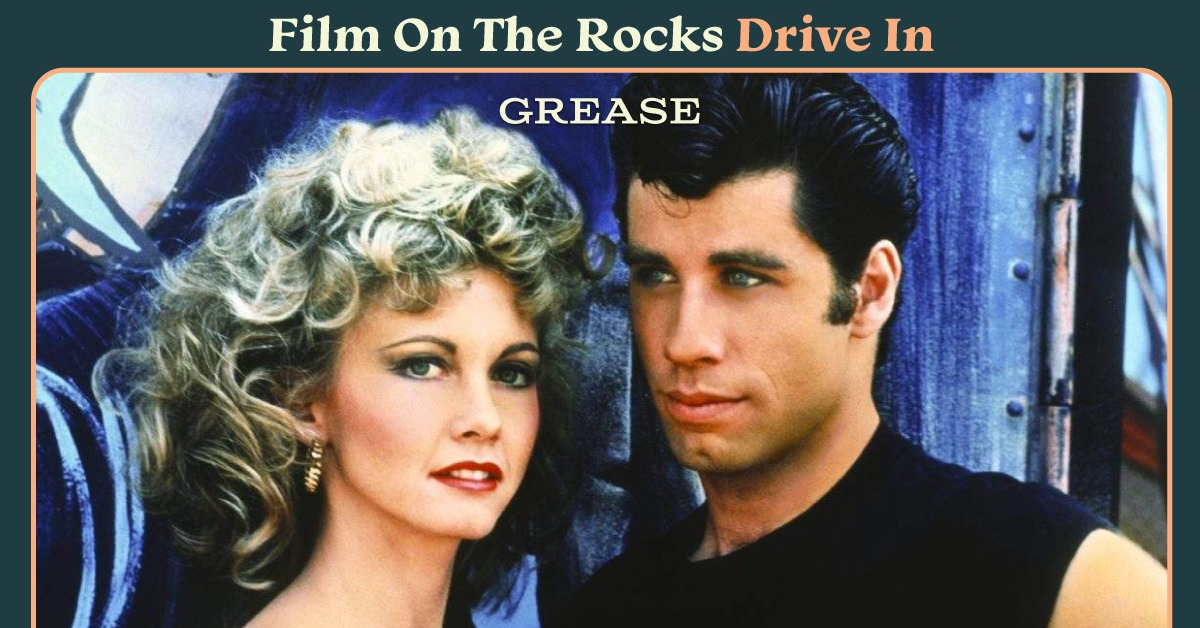 Film On The Rocks Drive-In: Grease
