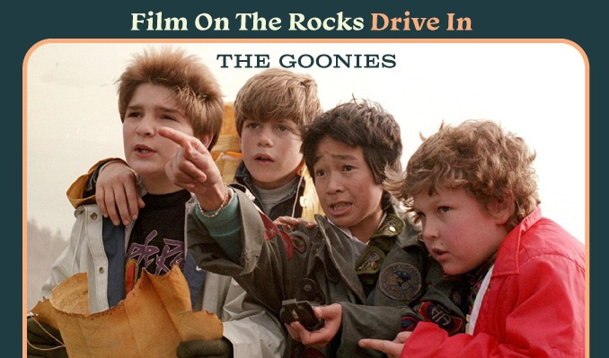 Film On The Rocks Drive-In: The Goonies
