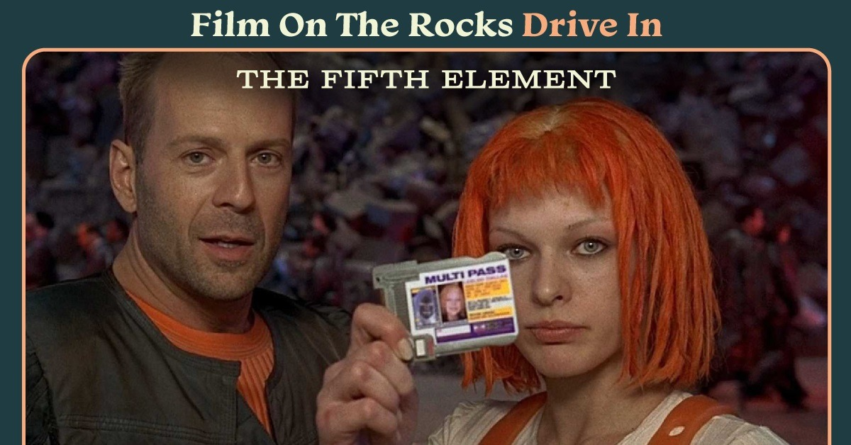 Film On The Rocks Drive-In: The Fifth Element