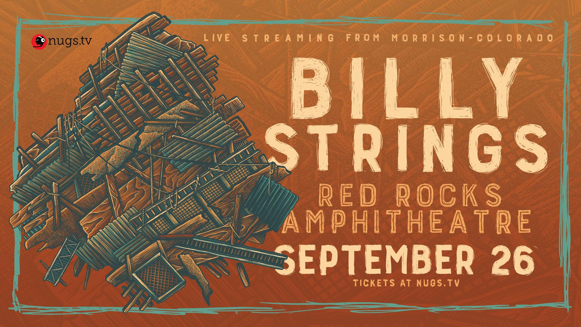 Live Stream: Billy Strings