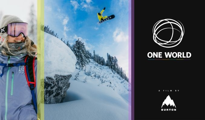 One World: A Snowboarding Film by Burton at the Red Rocks Drive-in