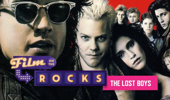 Film On The Rocks Drive-In: The Lost Boys