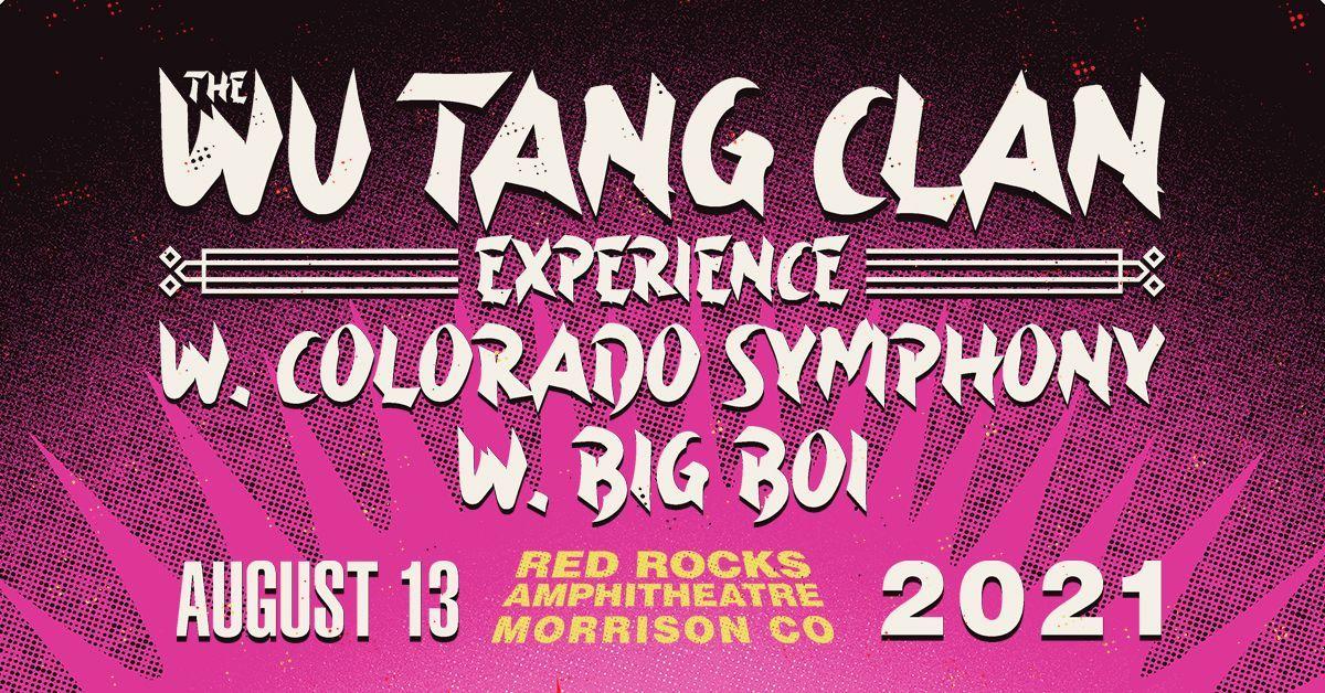 Wu-Tang Clan w/ Colorado Symphony