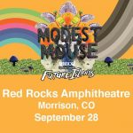Modest Mouse with special guests Future Islands