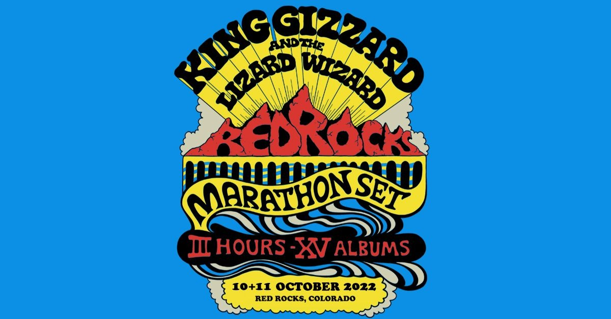 King Gizzard and the Lizard Wizard 10/11