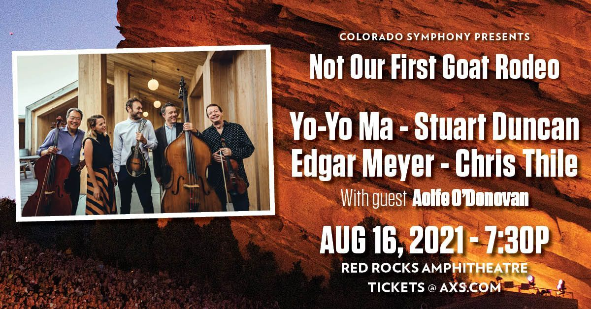 Not Our First Goat Rodeo featuring Yo-Yo Ma,  Stuart Duncan,  Edgar Meyer,  and Chris Thile