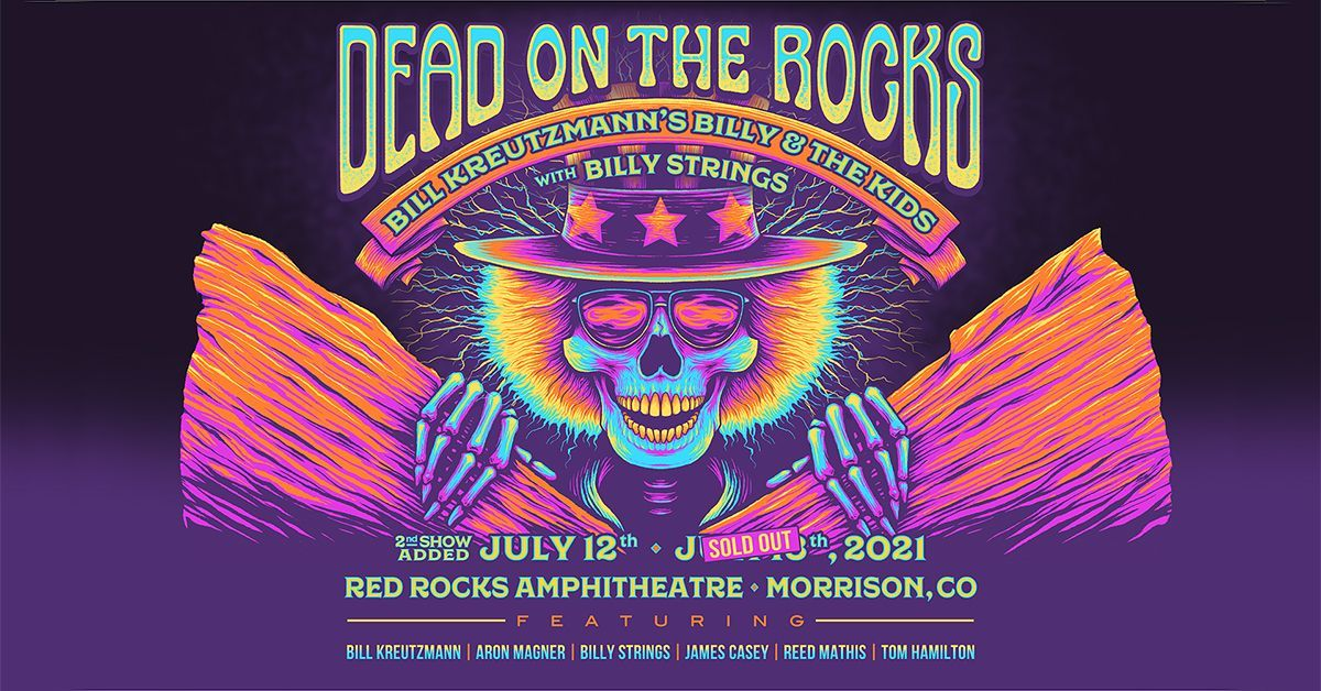 Billy and the Kids featuring Bill Kreutzmann and Billy Strings 7/12