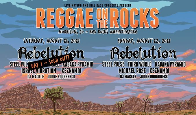 Reggae On The Rocks 8/21