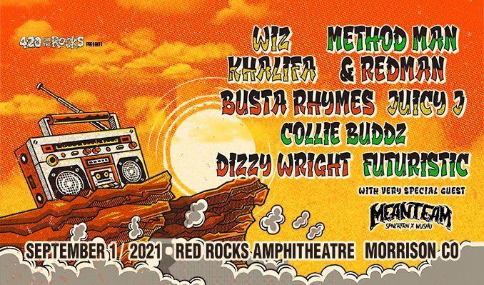 Wiz Khalifa x Method Man & Redman, Busta Rhymes, Juicy J,  Collie Buddz, Dizzy Wright, Futuristic, with very special guest MeanTeam (SPNCRTRN x WUSHU)
